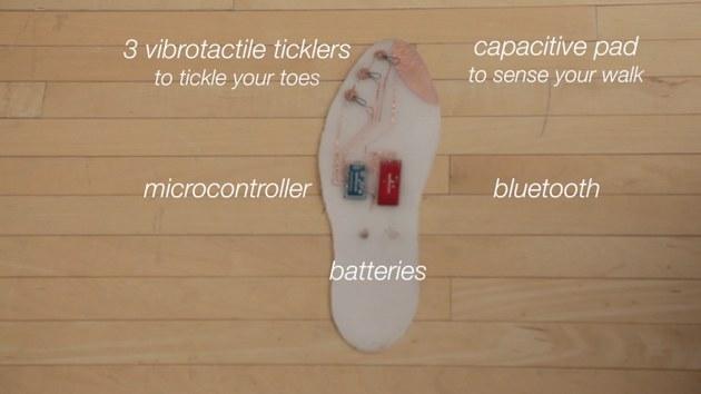 SuperShoes - wkładkami do butów z obsługą nawigacji GPS. /materiały prasowe