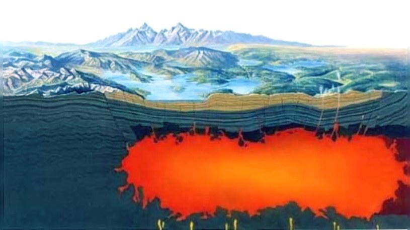 Superwulkan w Yellowstone z miesiąca na miesiąc daje znać o sobie coraz bardziej. Fot. National Park Service /materiały prasowe