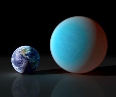 Superziemia 55 Cnc e uchwycona przez naziemny teleskop