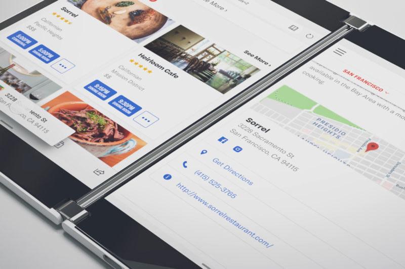 Surface Duo /materiały prasowe