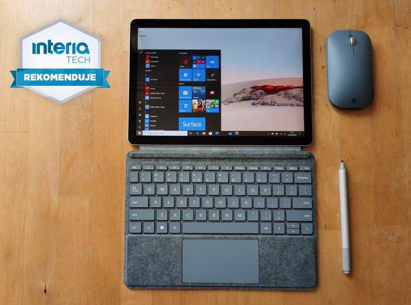 Surface Go 2 otrzymuje REKOMENDACJĘ serwisu Interia Tech /INTERIA.PL