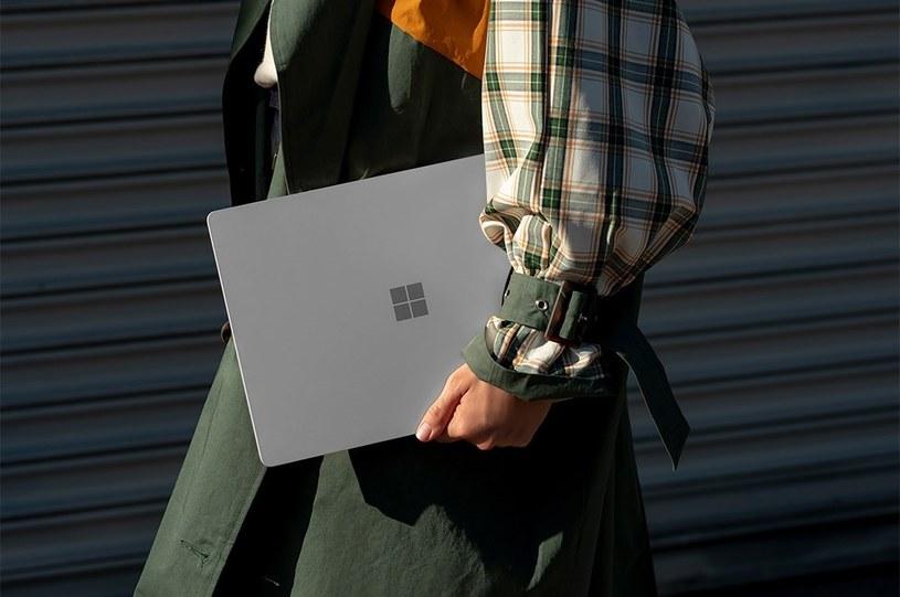 Surface Laptop 3 to stylowy i dobrze wyposażony sprzęt /materiały promocyjne