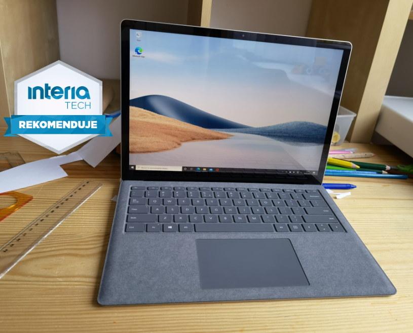 Surface Laptop 4 otrzymuje REKOMENDACJĘ serwisu Interia Tech /INTERIA.PL
