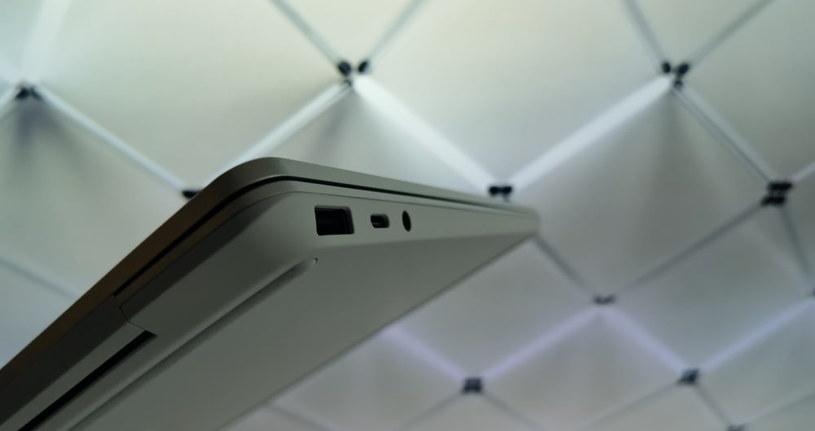 Surface Laptop Go - tylko dwa porty USB /INTERIA.PL