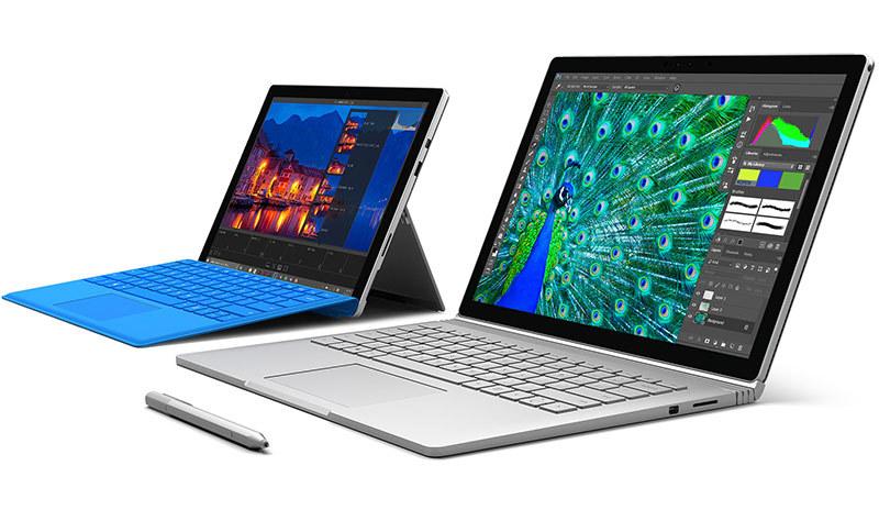 Surface Pro 4 i Surface Book - nowe modele w ofercie Microsoftu /materiały prasowe
