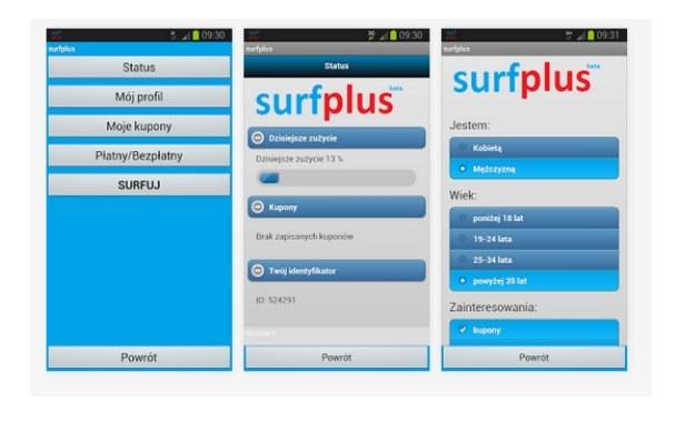 surfplus można pobrać z Google Play - oferta dotyczy tylko smartfonów z systemem Android /materiały prasowe