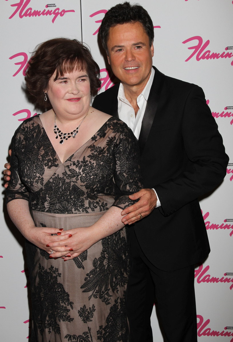 Susan Boyle, Donny Osmond /Getty Images