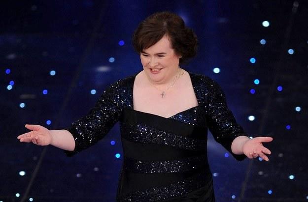 Susan Boyle fot. Daniele Venturelli /Getty Images/Flash Press Media