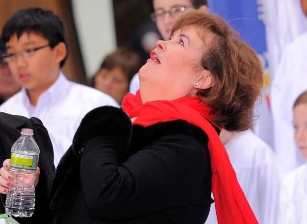 Susan Boyle marzy o duetach z Rihanną i Paulem McCartney'em fot. Jemal Countess /Getty Images/Flash Press Media