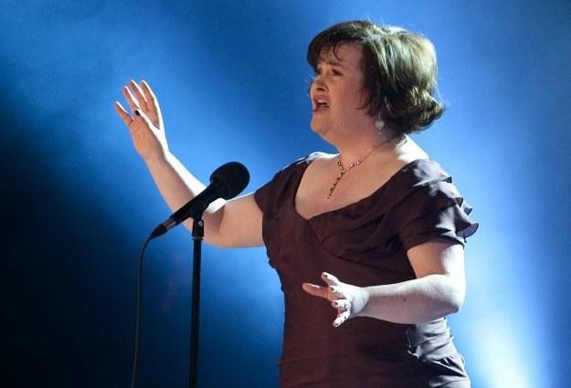 Susan Boyle nagrywa świąteczny bestseller /arch. AFP