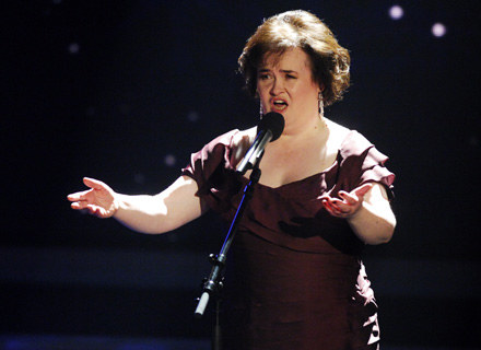 Susan Boyle triumfuje /Getty Images/Flash Press Media