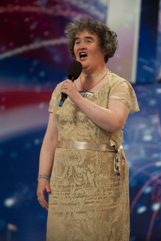 """Susan Boyle w brytyjskim """"Mam talent"""" /AFP/HO /East News"""