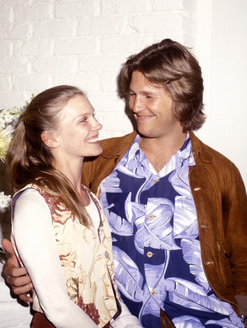 Susan Geston i Jeff Bridges w 1977 roku /Ron Galella Collection /Getty Images