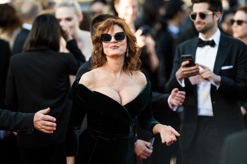 Susan Sarandon na festiwalu w Cannes w 2017 roku /Matthias Nareyek /Getty Images