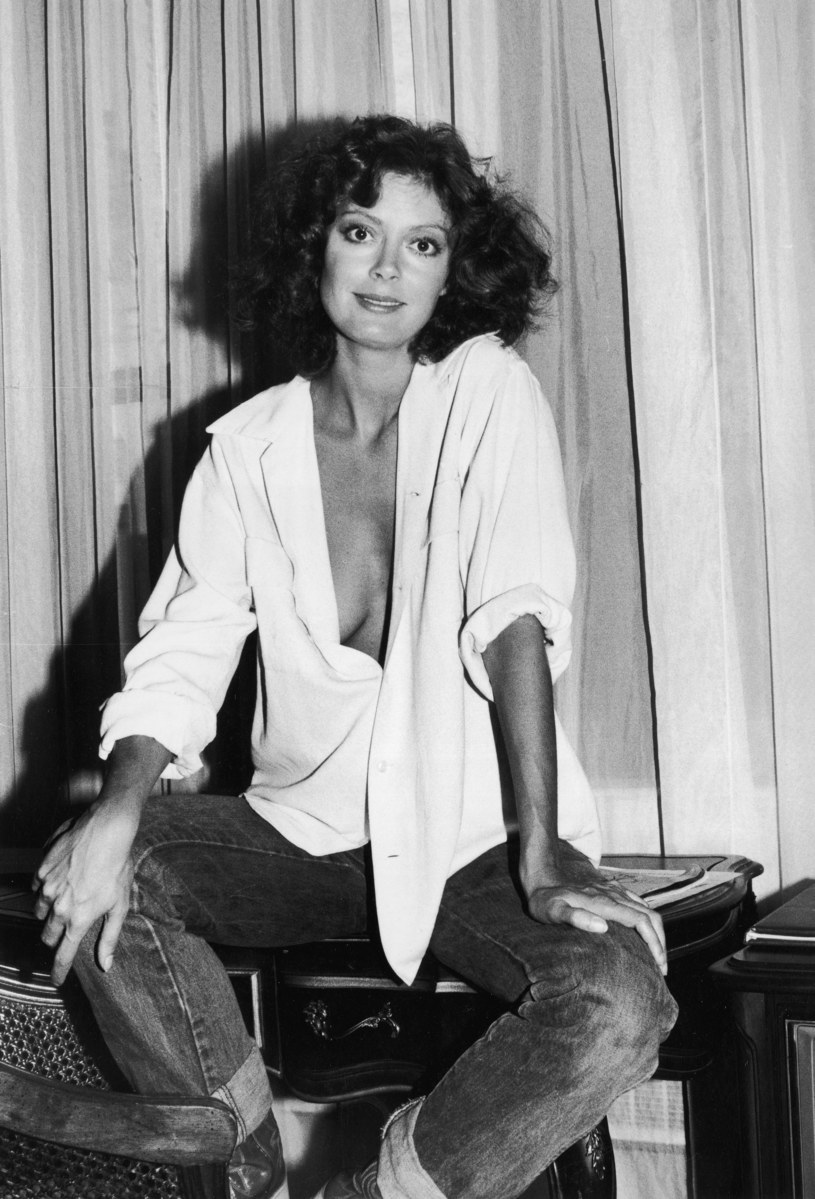 Susan Sarandon w 1978 roku /Tim Boxer/Hulton Archive /Getty Images