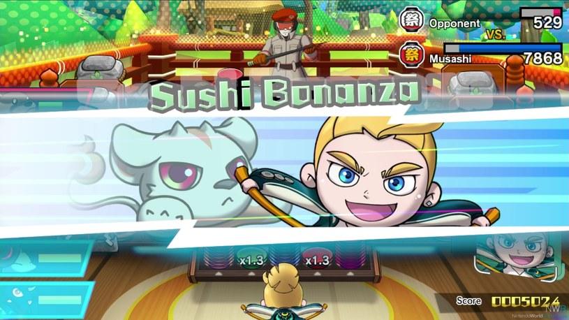 Sushi Striker: The Way of Sushido /materiały prasowe