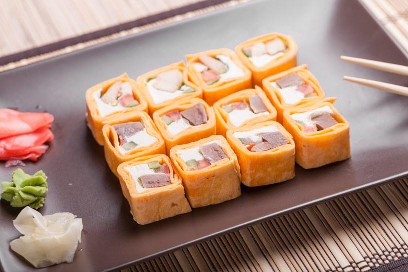 Sushitilla z tuńczykiem /materiały prasowe