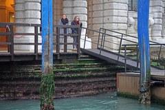 Susza w Wenecji. Po kanałach nie mogą pływać gondole i motorówki