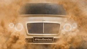 SUV Bentleya - pierwsze zdjęcie