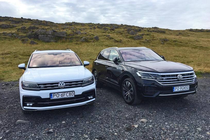 SUV-y Wolkswagena na Islandii /INTERIA.PL