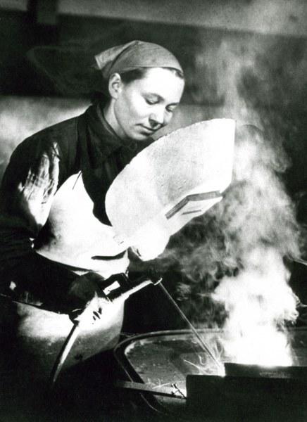 Anna Walentynowicz, 1952 r.