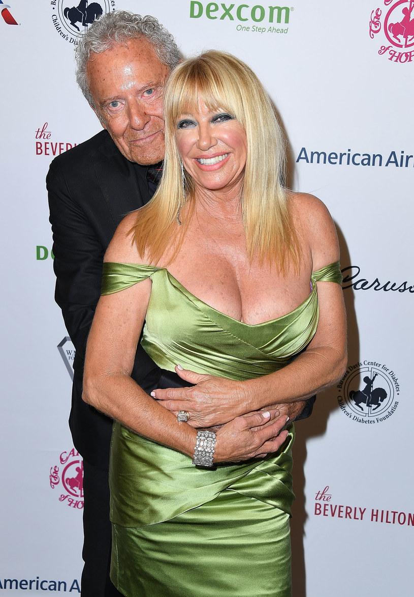Suzanne Somers z mężem Alanem Hamelem / Steve Granitz/WireImage /Getty Images