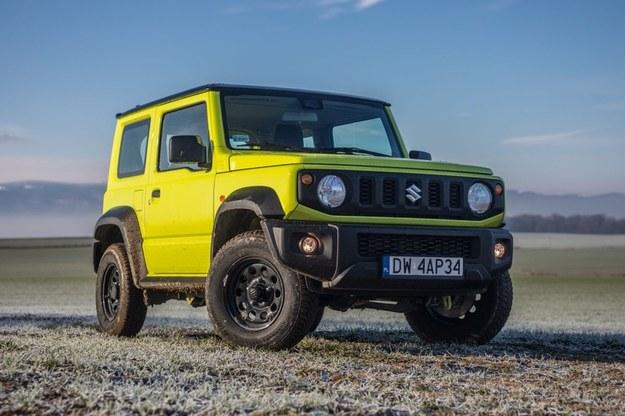 """Suzuki Jimny będzie dostępne jako dwuosobowa """"ciężarówka"""" /"""