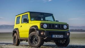 Suzuki Jimny będzie sprzedawany jako ciężarówka