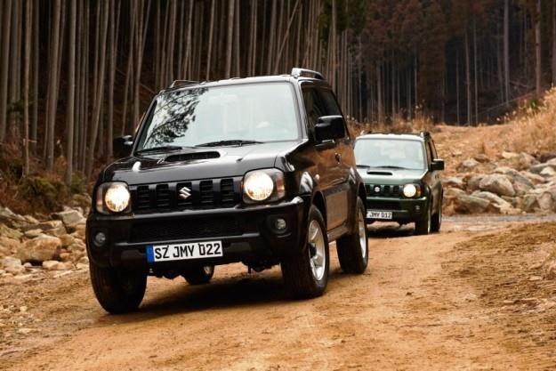 Suzuki Jimny spełnia nowe normy homologacyjne /