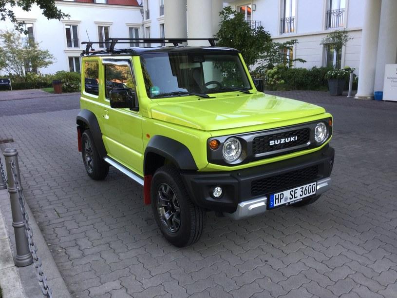 Suzuki Jimny /INTERIA.PL