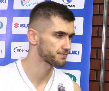 Suzuki Puchar Polski. Jacek Jarecki (Start Lublin) po meczu z Anwilem Włocławek. Wideo.