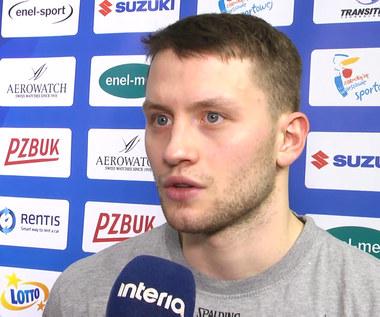 Suzuki Puchar Polski. Marcel Ponitka (Stelmet Zielona Góra). Było dużo nerwowości. Wideo