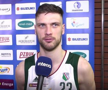 Suzuki Puchar Polski. Michał Michalak (Legia) po meczu z Hydro Truck Radom. Wideo