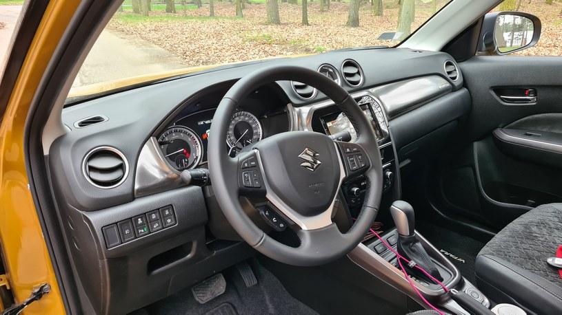 Suzuki Vitara All Grip Hybrid /INTERIA.PL