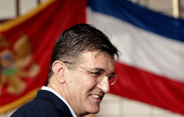 Svetozar Marović podobno zgodził się ujawnić, gdzie jest zdefraudowane 15 milionów euro /AFP