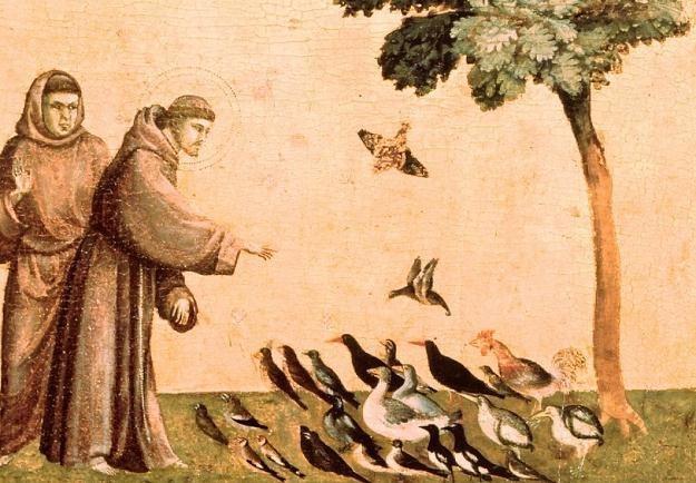 Św. Franciszek z Asyżu - fragment obrazu Giotta /East News