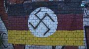 """Swastyka i napis """"German Death Camps"""" na murze w Gdańsku. Policja szuka sprawców"""