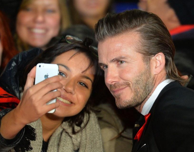 Sweet focia z Beckhamem? Bezcenne! /AFP