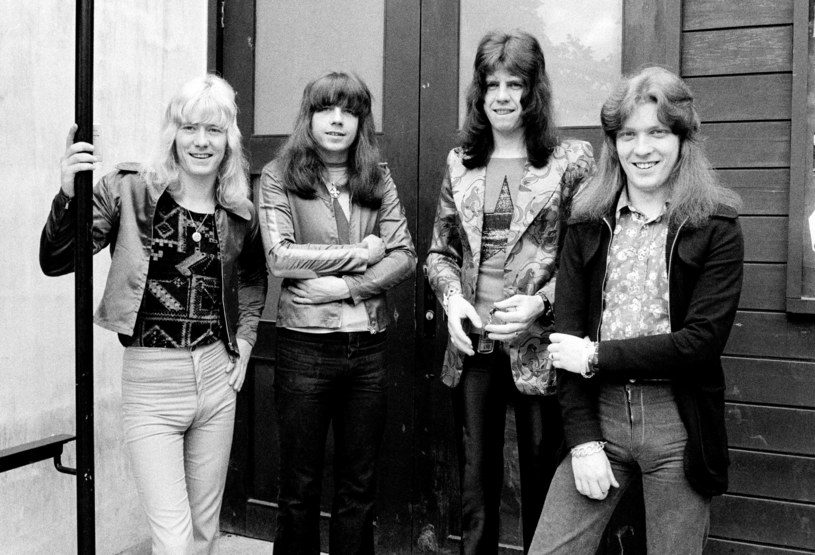 Sweet w 1972 r. - od lewej: Brian Connolly, Andy Scott, Mick Tucker i Steve Priest /Jorgen Angel/Redferns /Getty Images
