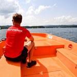 Świadek wypadku na jeziorze Dąbie: Pojedyncza osoba nie miała szans wydobyć dziecka z kabiny