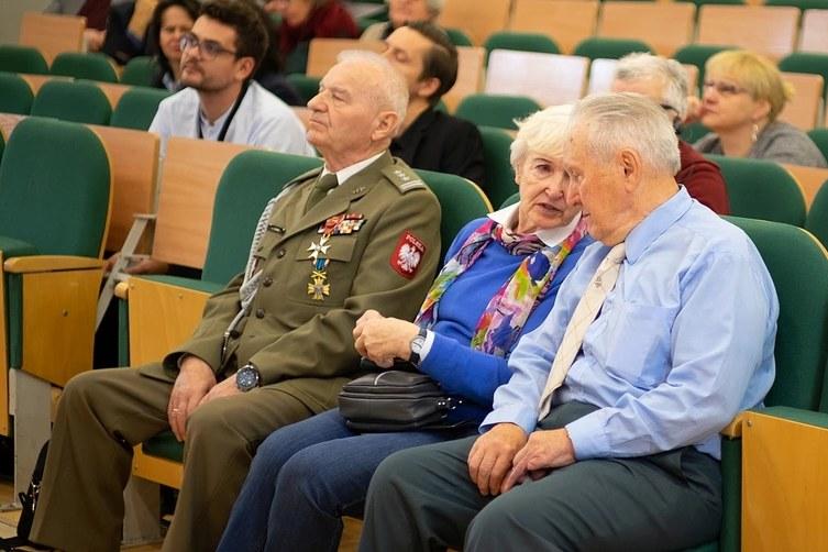 Świadkowie historii (od lewej): Józef Sowa, Barbara Paciorkiewicz, Janusz Bukorzycki /Paweł Krawczyk /INTERIA.PL