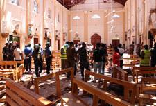 Świat reaguje na tragedię na Sri Lance