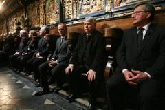 Świat żegna parę prezydencką w Bazylice Mariackiej w Krakowie
