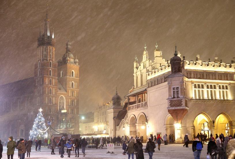 Świąteczna atmosfera w Krakowie /MONKPRESS /East News