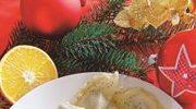 Świąteczne pierogi z makiem i sosem  z pomarańczy