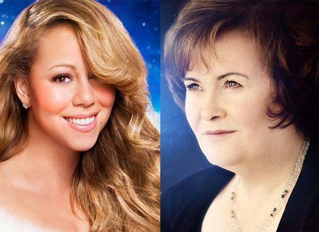 Świąteczne płyty przygotowały m.in. Mariah Carey i Susan Boyle /