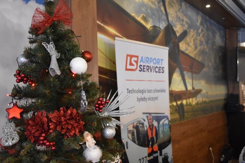 Świąteczne spotkanie pracowników firmy LS Airport Services /materiały prasowe