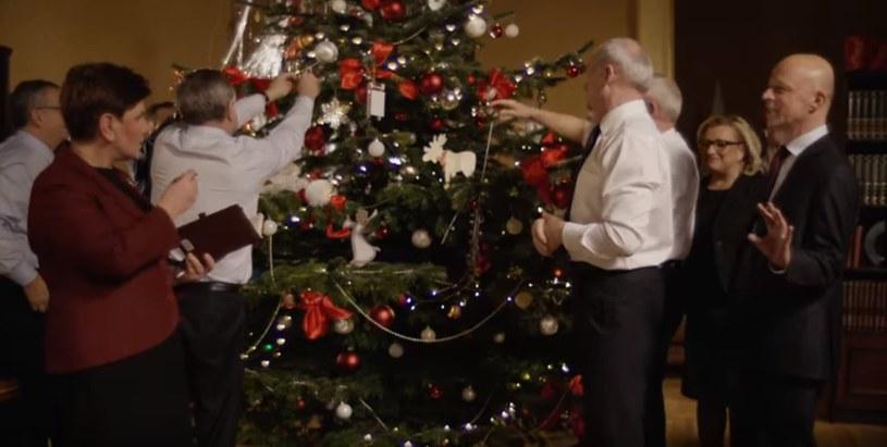 Świąteczny spot Kancelarii Premiera /YouTube