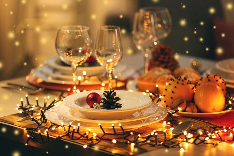 Świąteczny stół /©123RF/PICSEL