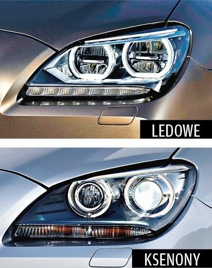 Światła LED-owe nie są mocniejsze niż ksenony /Motor
